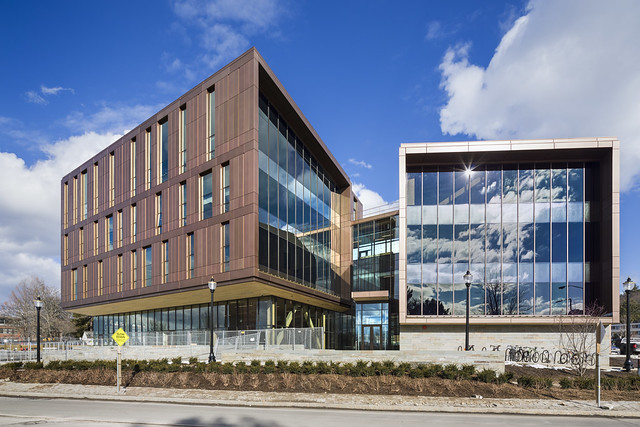 UMass Amherst Design Building