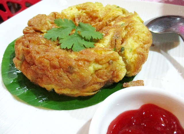 Flavours Thai Kitchen omelette