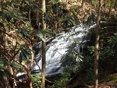 Mountaintown Creek Falls Lower Cascade