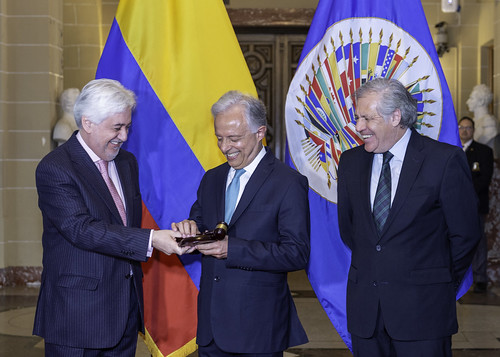Colombia Assumes Chair of OAS Permanent Council