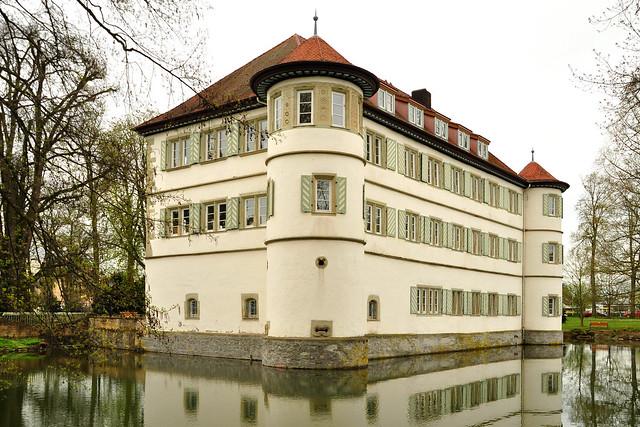 April 2018 ... Kurstadt Bad Rappenau ... Wasserschloss, Salinenpark, Kurpark, Blumen, Biber ... Fotos: Brigitte Stolle