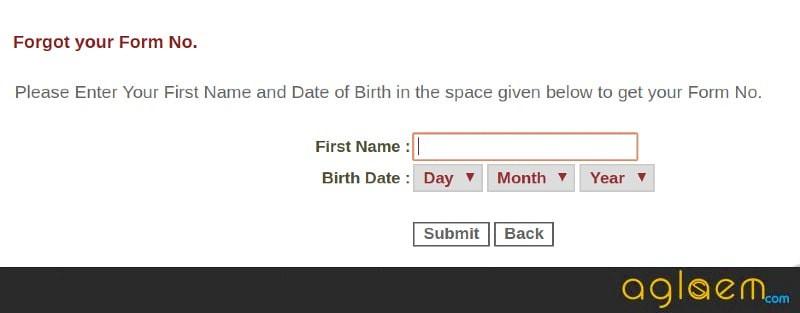 IRMA Form Number