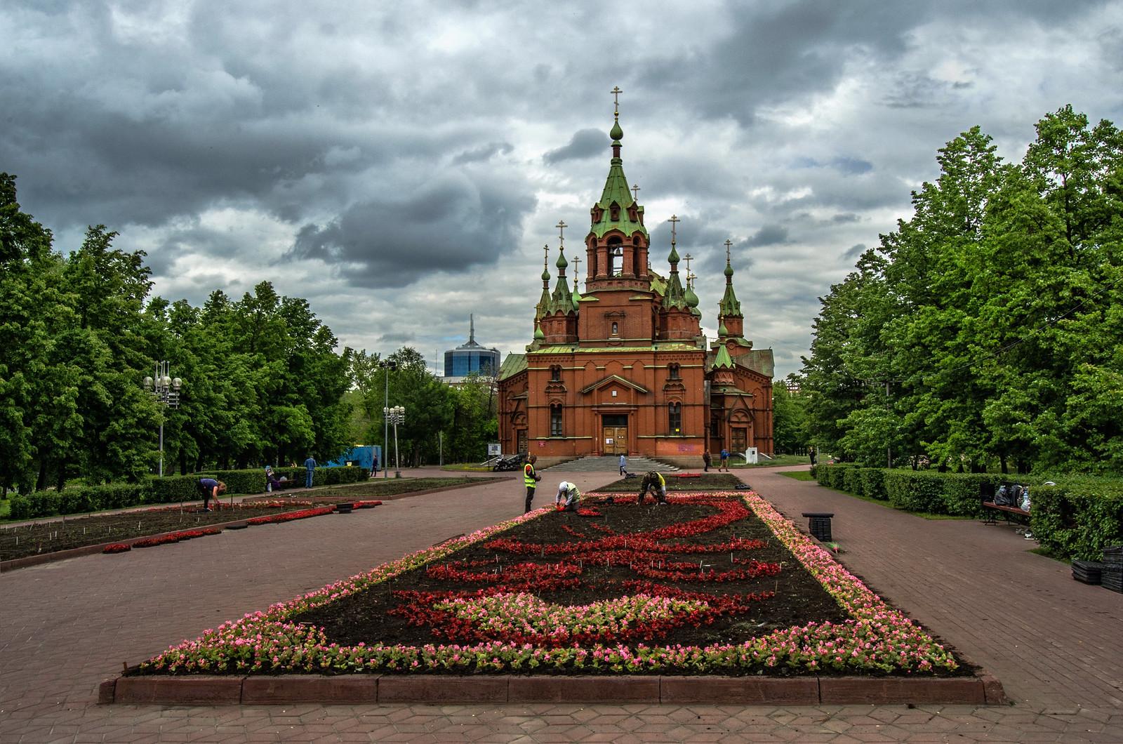 Челябинск. 14.05.2018 - Храм Александра Невского