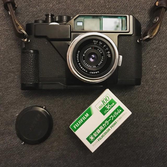 Nikon S 3.5cm f3.5 細光圈廣角味