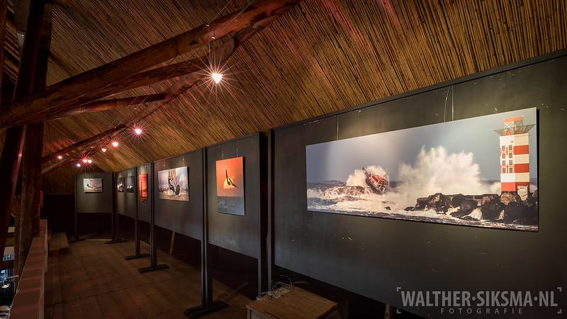 Expositie Walther Siksma fotografie bij Nynke Pleats in Piaam
