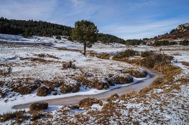 Río de Peguera en invierno