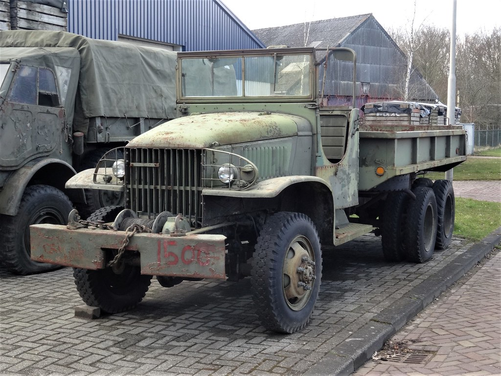 1940's GMC CCKW 353 Army Truck | The GMC CCKW was 2½-ton 6x6… | Flickr