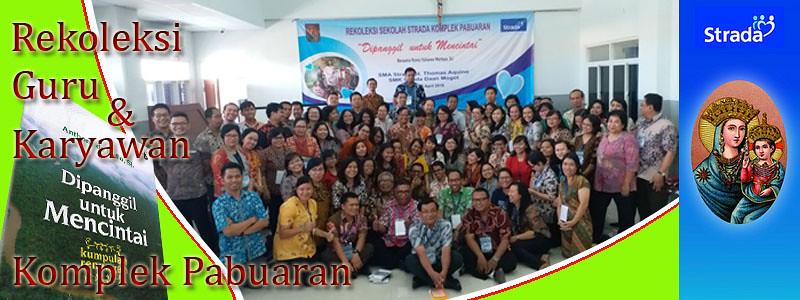 Rekoleksi Guru & Karyawan SMA-SMK Komplek Pabuaran