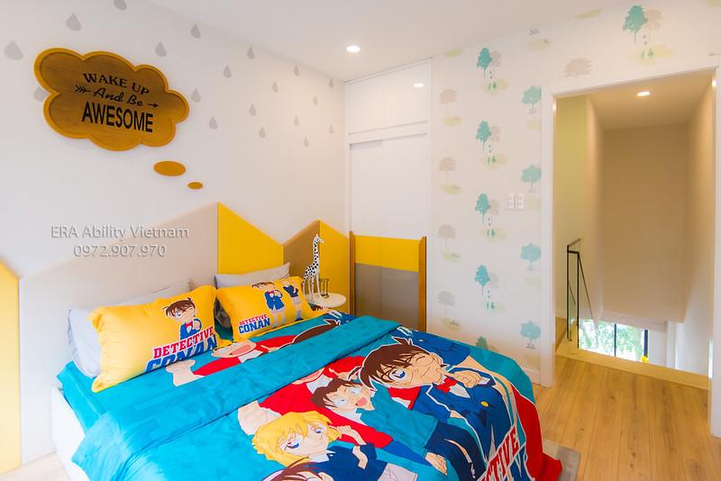 Phòng ngủ baby shophouse River Park quận 9