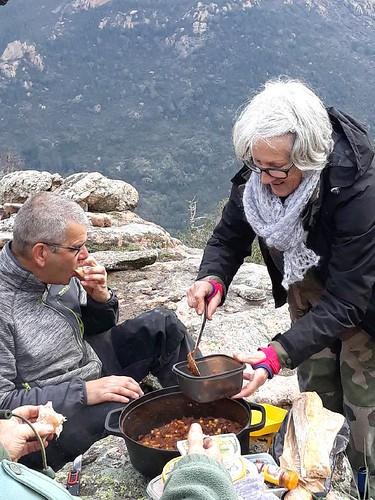 Spuntinu dans la montée de Ranuchjaghja