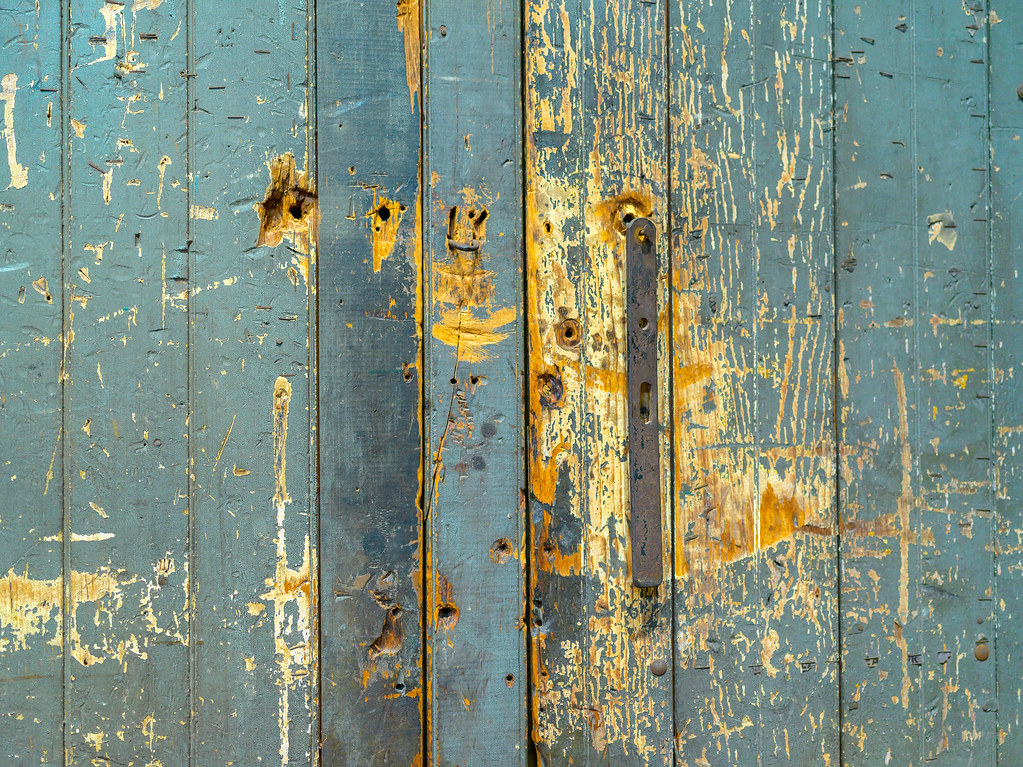 Distressed doors | by Tim Ravenscroft Distressed doors | by Tim Ravenscroft & Distressed doors | An old pair of heavily used doors. Lowellu2026 | Flickr