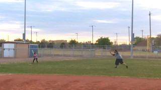 Daddy and me practice | by Roswell Sluggers