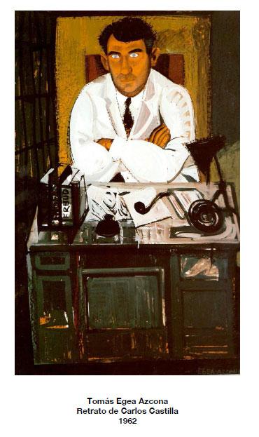 Tomás Egea: Retrato de Carlos Castilla. 1962
