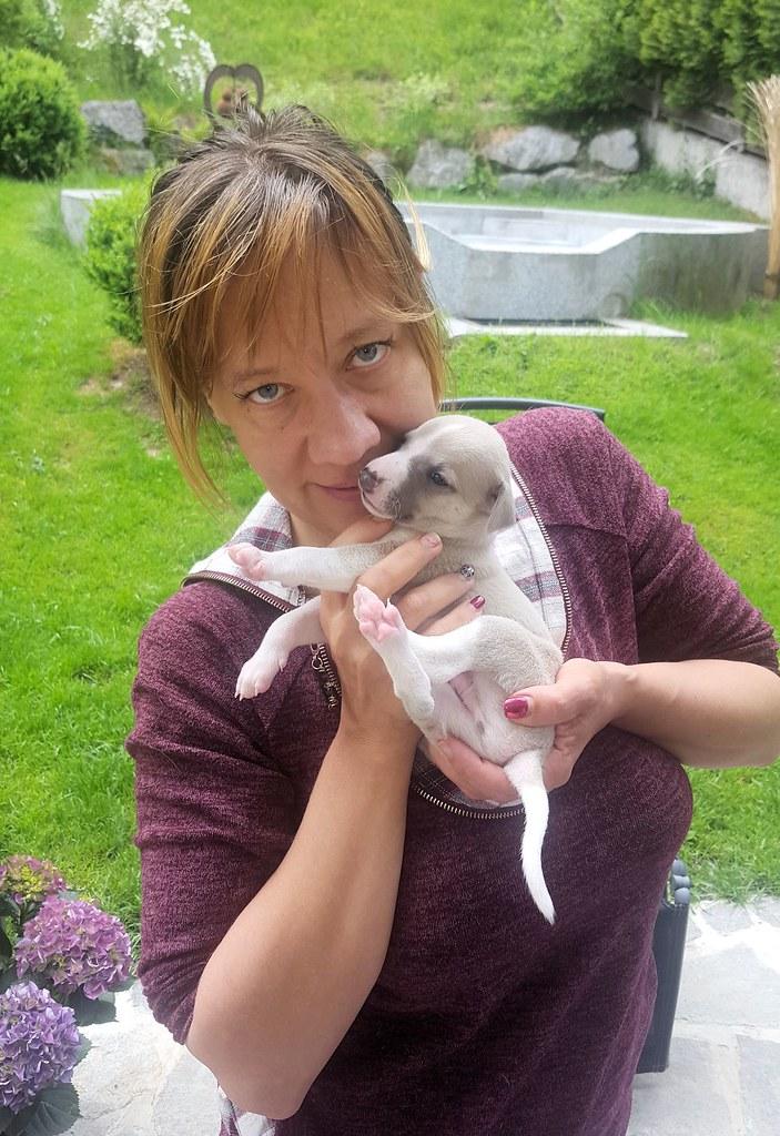Extra für Karin ein Foto von ihrem Idefix und mir ;-)