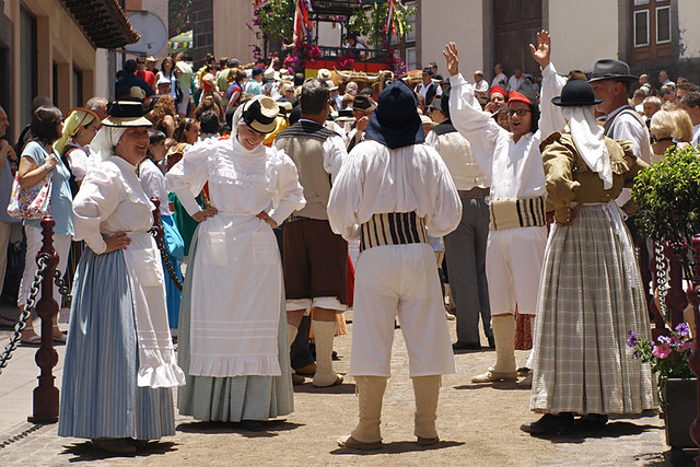 Costumes at Romeria de San Isidro, La Orotava, Tenerife