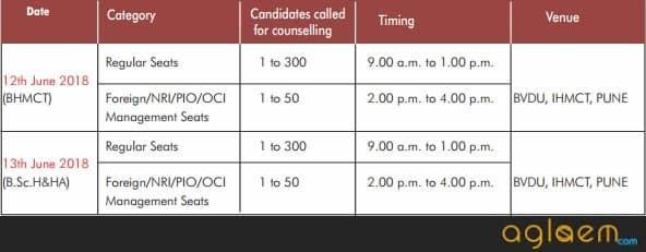 BVP CET Counselling 2018   Bharati Vidyapeeth University