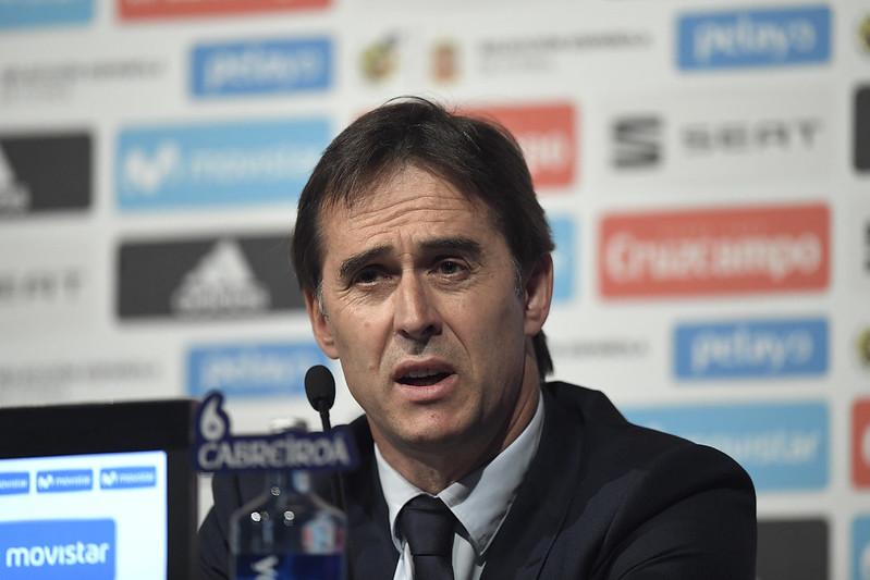 西班牙總教練Julen Lopetegui宣布世界盃23人名單。(AFP授權)