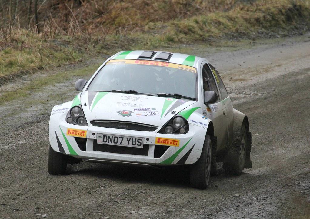 Rally North Wales  Ford Ka  Alun Roberts By