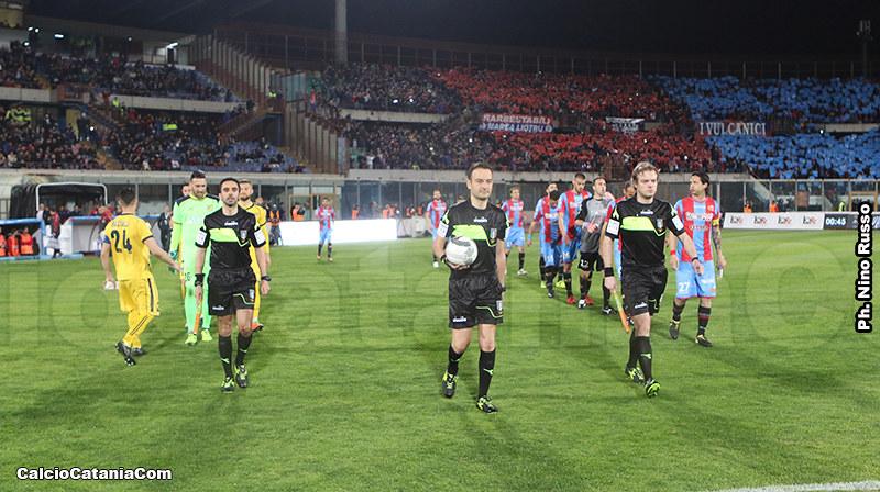 Catania-Juve Stabia si giocherà alle ore 14.30