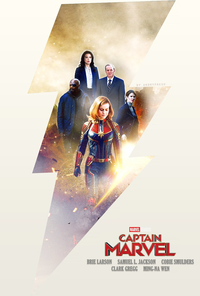 Credit Report Com >> Captain Marvel   Concept poster for Captain Marvel, coming o…   Flickr