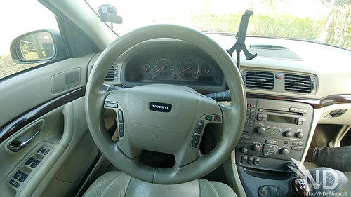 Volvo S80 2.4T cockpit view | by ND-Photo.nl