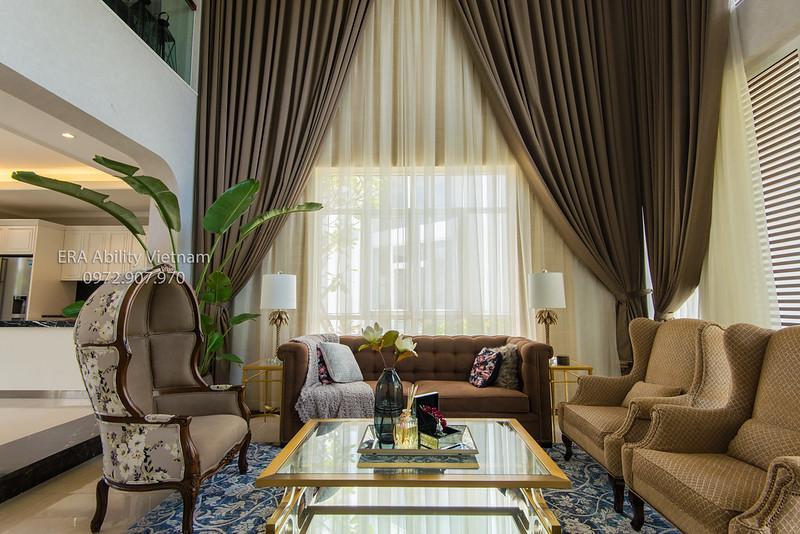 bộ ghế sofa nhà mẫu Biệt thự Villa Park