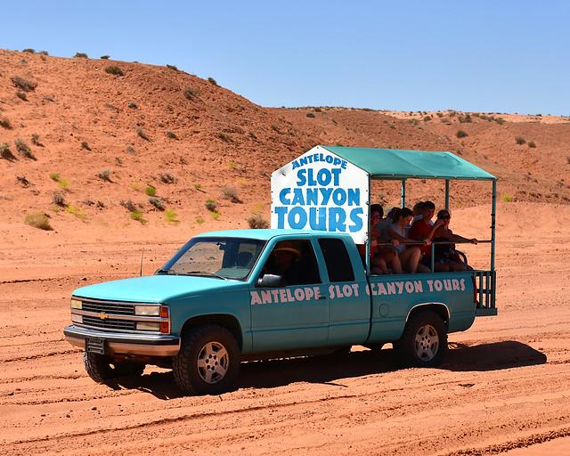 Slot Canyon Tours, la empresa con quien hicimos la excursión al Antelope Canyon