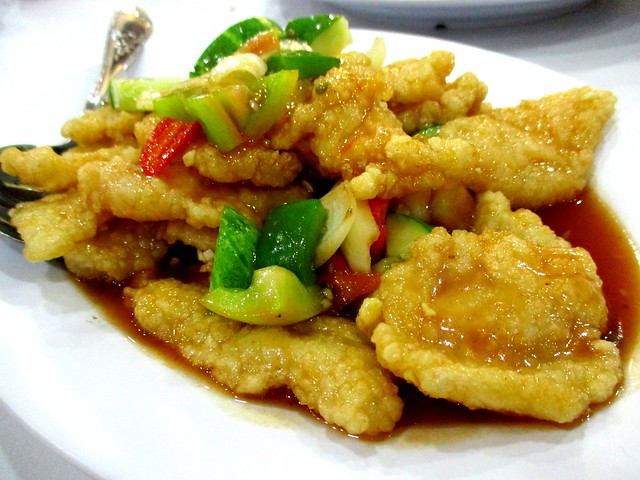 Nice House sweet and sour fish fillet