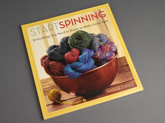 This hard-to-find book is essential reading for new spinners SOLD