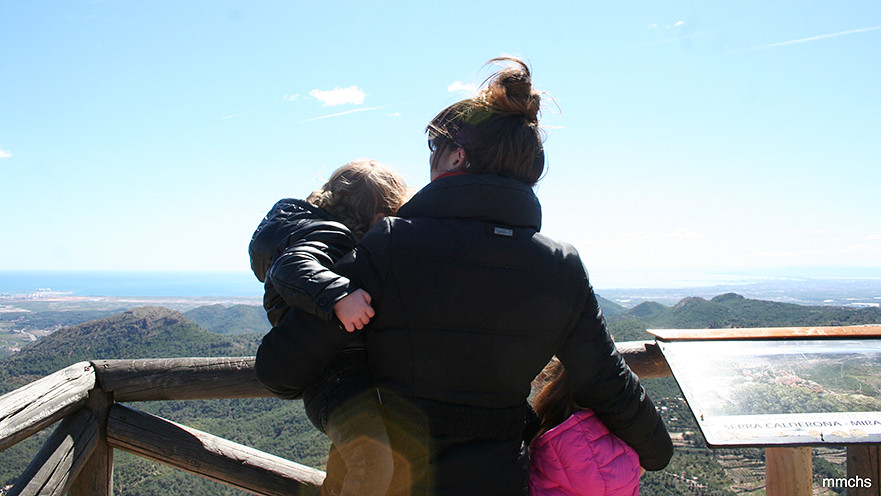 mirador de El Garbí en la sierra Calderona