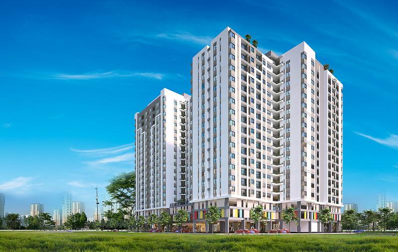 Phối cảnh thiết kế dự án căn hộ Thủ Thêm Garden quận 9