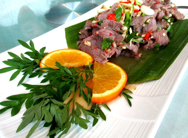 Flavours Thai Kitchen beef with lime