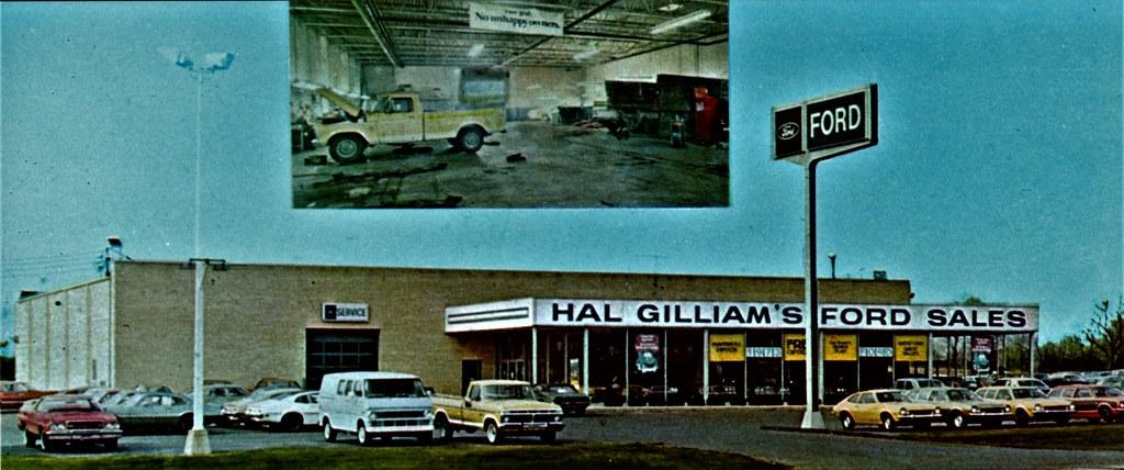 hal gilliam's ford sales, new carlisle ohio, 1973 | 1775 so.… | flickr