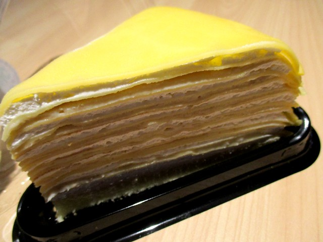 Food Bazaar durian mille crepe 2