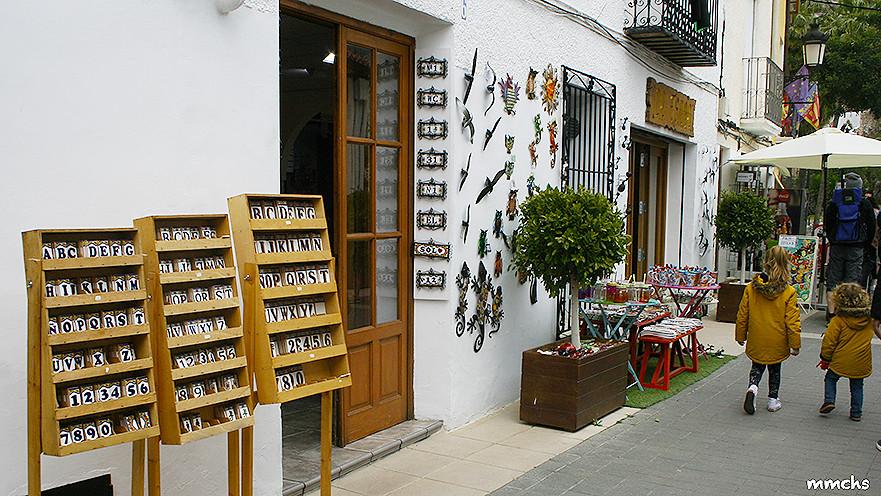 tiendas en Guadalest