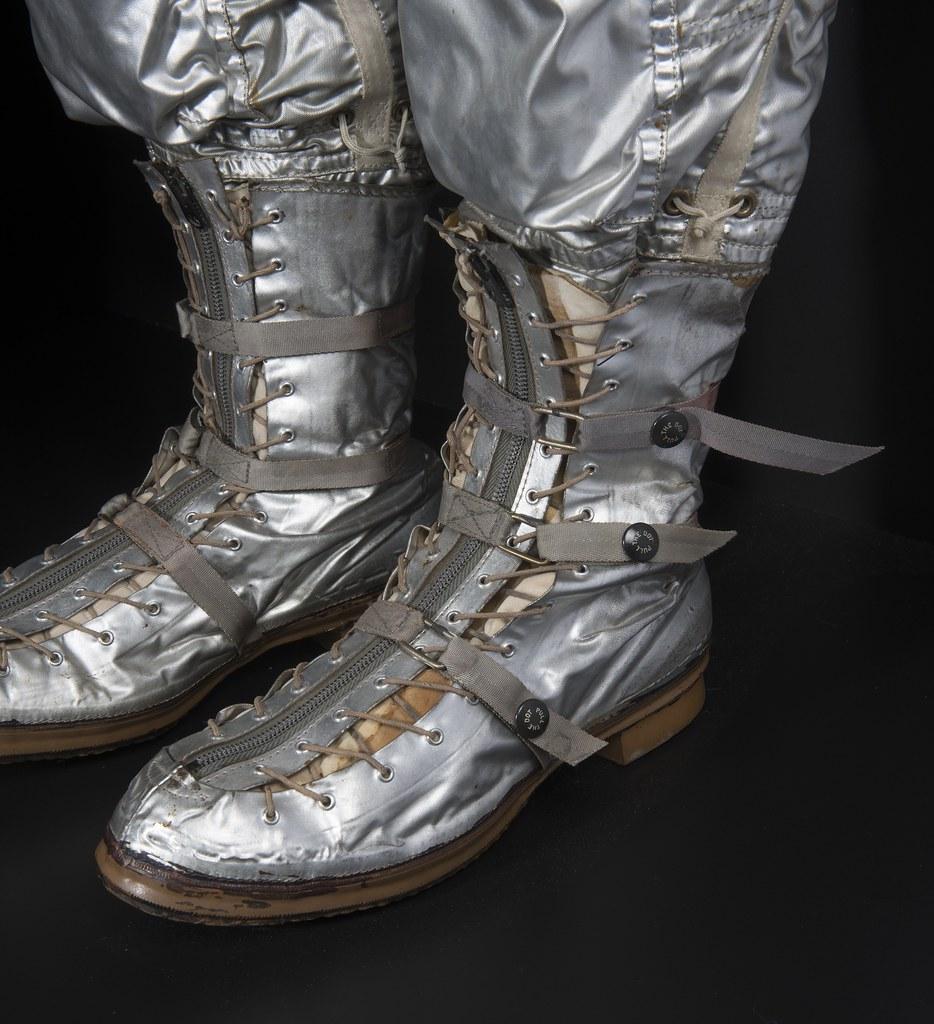 John Glenn's Mercury Boots   NASA astronaut John Glenn ...