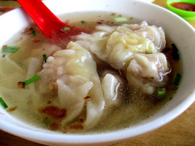 Kenyalang Cafe pian sip soup