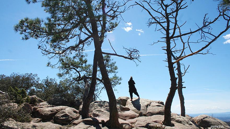 mirador de el Garbí en la sierra Calderona de Valencia