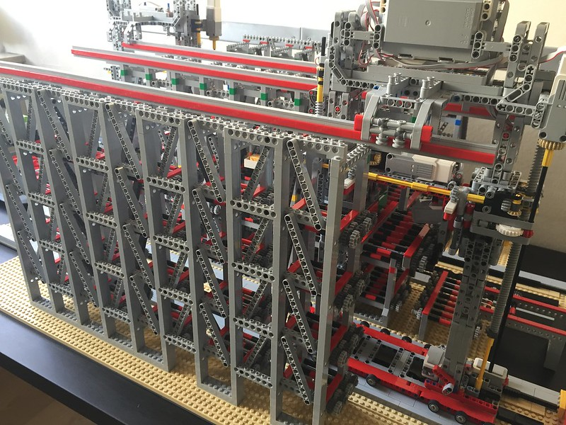 Large Candy Warehouse, controlled by Lego Mindstorms