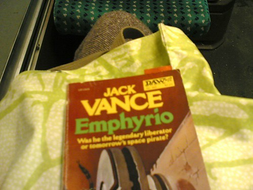 Reading on the bus | by clotilde