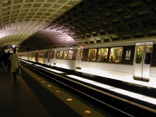 Washington Training Washington dc Metro Train