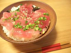 Maguro-don / まぐろ丼