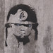 Kid Soldier Stencil