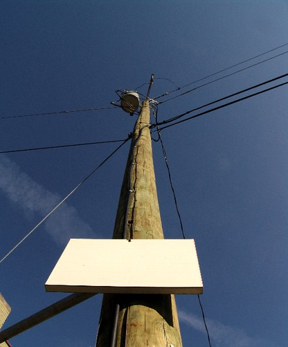 pole blank sign | by zen