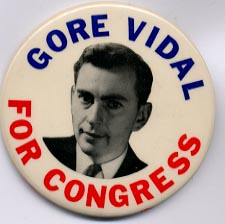 GORE VIDAL FOR CONGRESS | by KEITHBOADWEE
