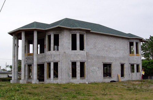 Diy concrete block house house best design for Concrete block house