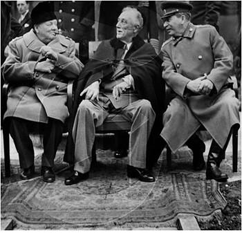 Churchill Roosevelt Stalin Yalta 1945 May 16 2005 60 Y Flickr