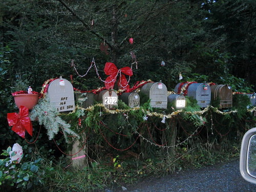 mailboxes decorated for christmas | by mcoughlin