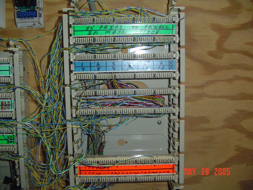 Wiring Bix Block Free Diagram For You 110 Punch 2 The Terminal On Right Other Flickr Rh Com 66 Down