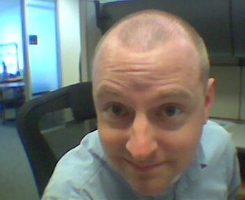 Buzz Cut When A Self Inflicted Haircut Goes Bad Egg On Stilts Flickr
